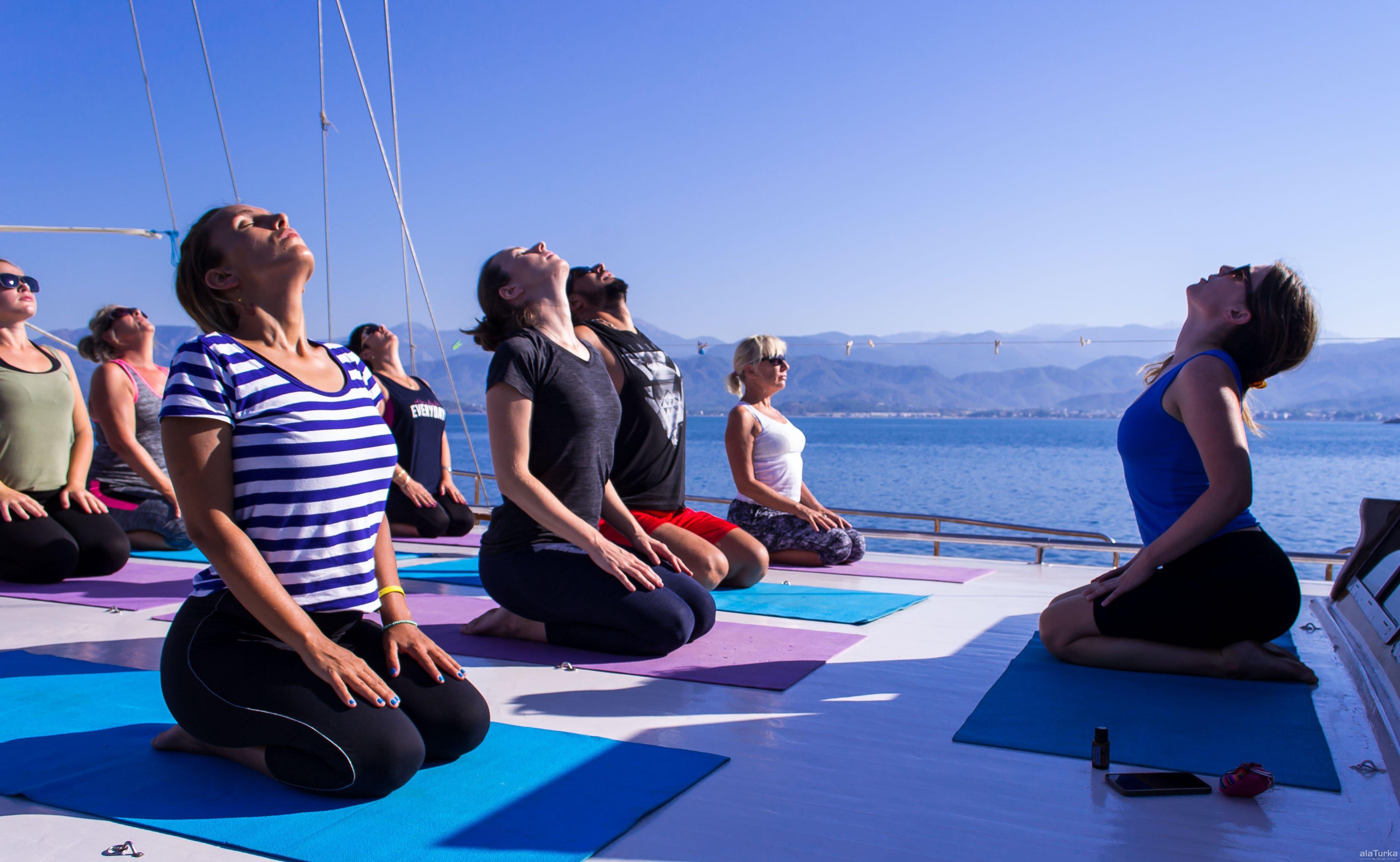 Yoga Mavi Tur Kelebekler Vadisi Amp Kabak Alaturka Yat 231 ılık